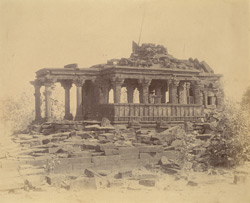 General view of ruined temple at Nohta, Damoh District